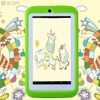 BDF Android Tablet 4 4 Kids 7 Inch Tablet PC Quad Core 8GB 1024x600 Screen Children