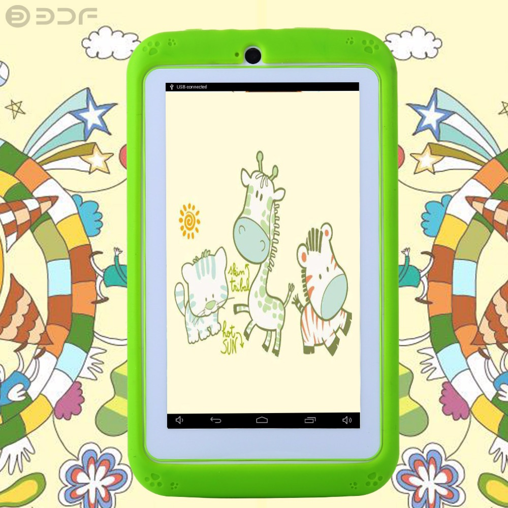 BDF Android Tablet 4.4 Kids 7 Inch Tablet PC Quad Core 8GB 1024x600 Screen Children Education Games Baby PAD Kids Gift odell education developing core literacy proficiencies grade 7