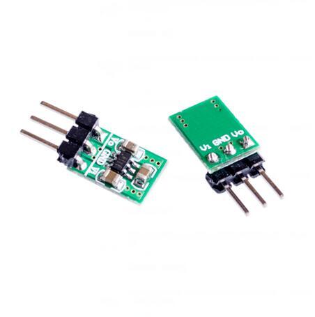 Понижающий и понижающий мини-преобразователь постоянного тока 2 в 1, питание от 1,8 в-5 в до 3,3 В для Wi-Fi Bluetooth ESP8266 HC-05 CE1101, светодиодный модуль
