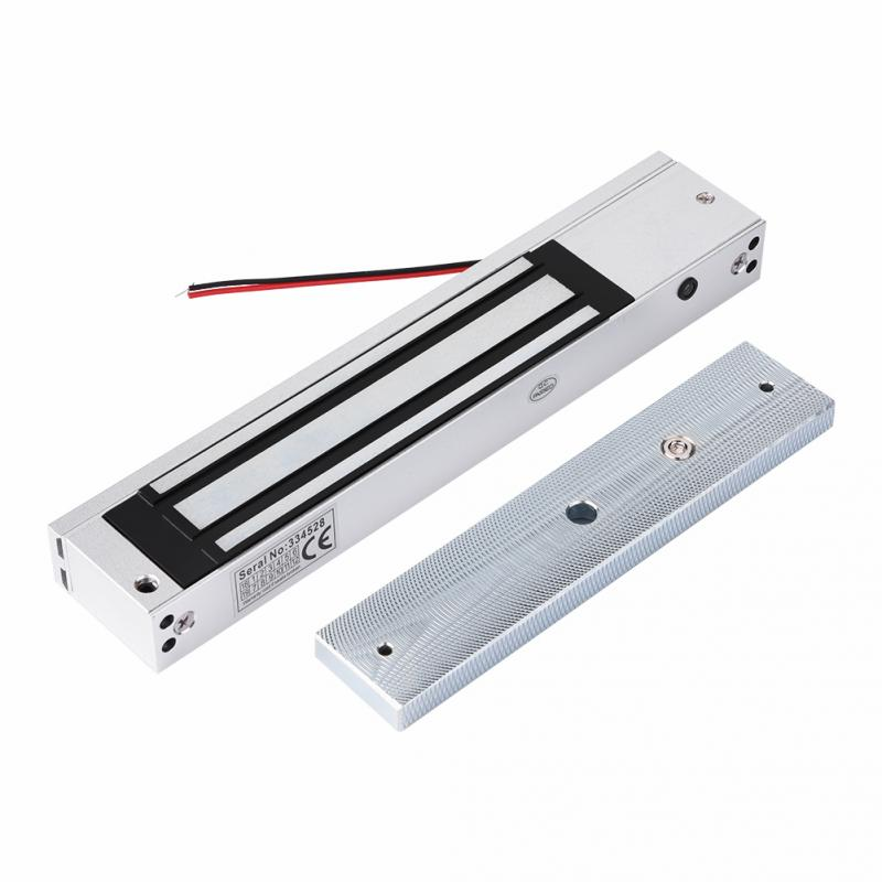 Access Control System 280KG 617LB Single Door 12V Electric Magnetic Lock Electromagnetic Lock Holding Force NC