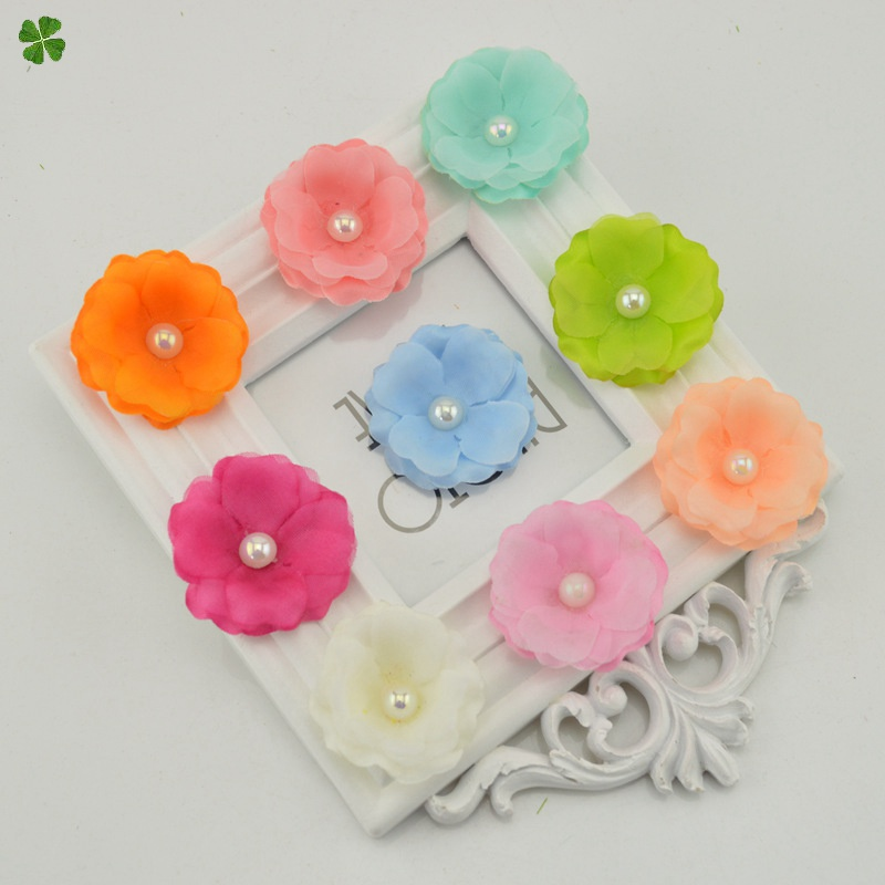 5 cm flor de seda falso flores de cerezo flores artificiales barato para el hoga