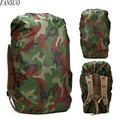 60-80L Drawstring Outdooring Mountaineering Bag Rain Cover Shoulde Backpack Protective Cover Military Camouflage Dust Cover