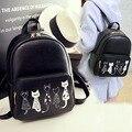 2017 новой Корейской версии небольшой свежий симпатичный рюкзак милый модный мешок школы мешок школы мешок плеча