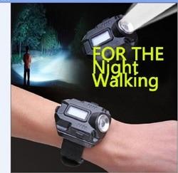 New portable xpe q5 r2 led wrist watch flashlight torch light usb charging wrist model tactical.jpg 250x250