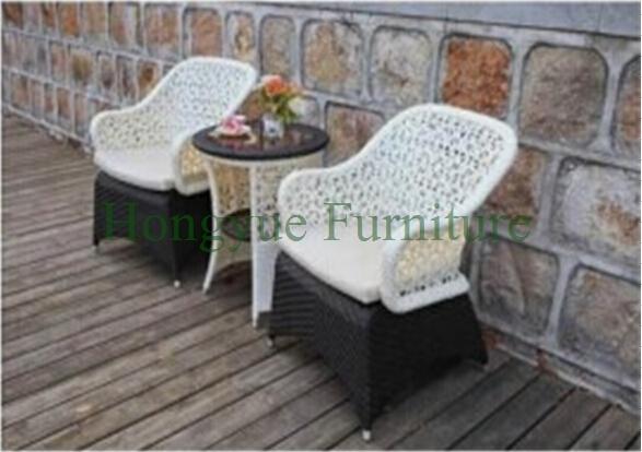 Exterior conjunto bistro, jardín mimbre silla de mesa juegos
