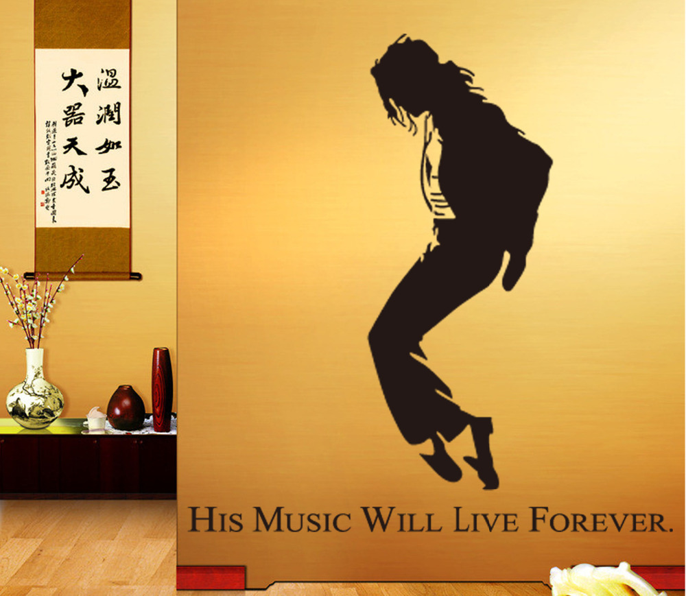 2016 New Best Selling Dancing Michael Jackson Wall Stickers ...