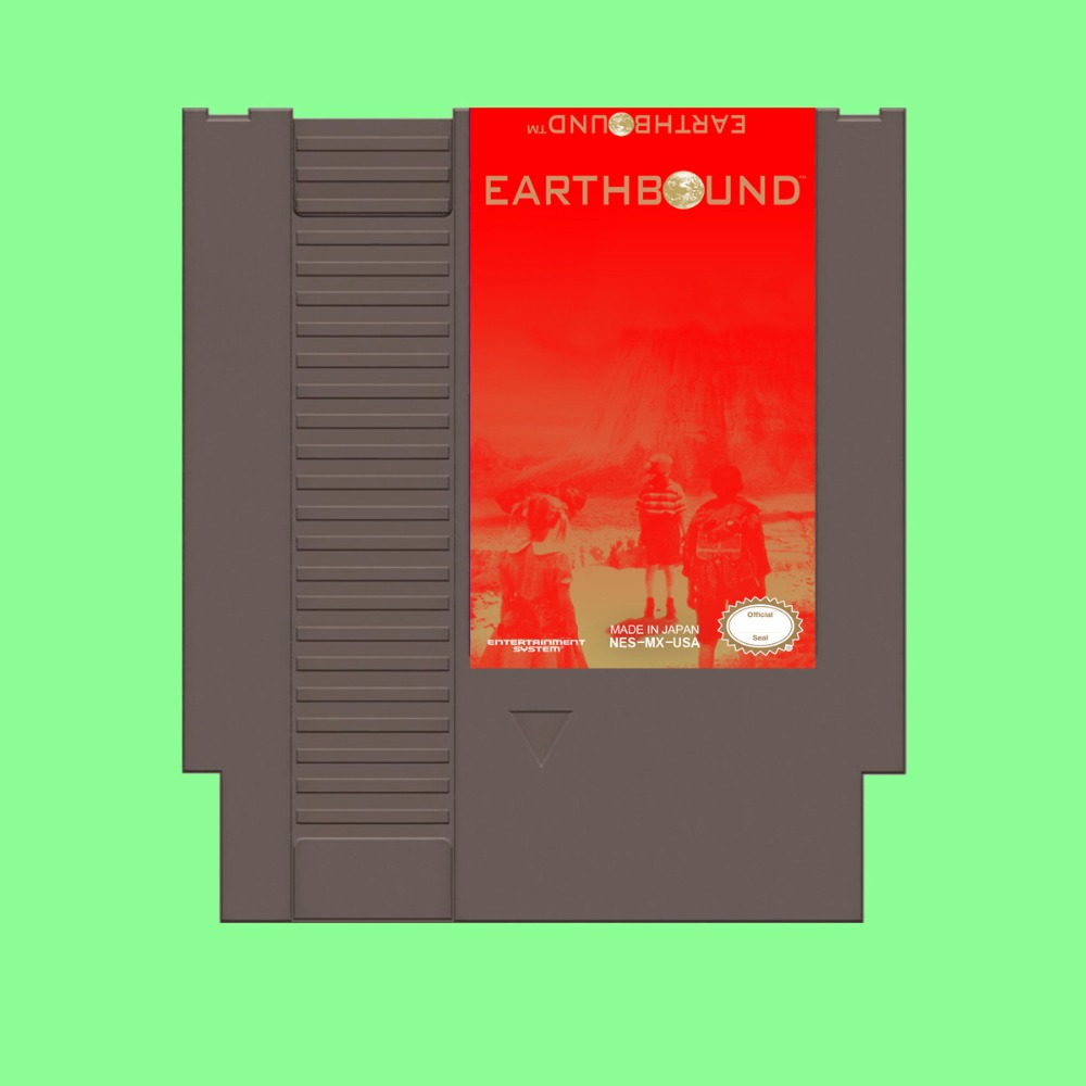 Best Sale Earthbound Game Card For 72 Pin 8 Bit Game Player