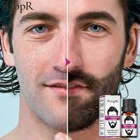 RtopR Hair Follicle Repair Oil Men Styling Moustache Oil Hair Growth Of Beard Body Hair Eyebrow Care Moisturizing Smoothing 10ml