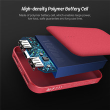 Small Power Bank with 10000 mAh an duel USB