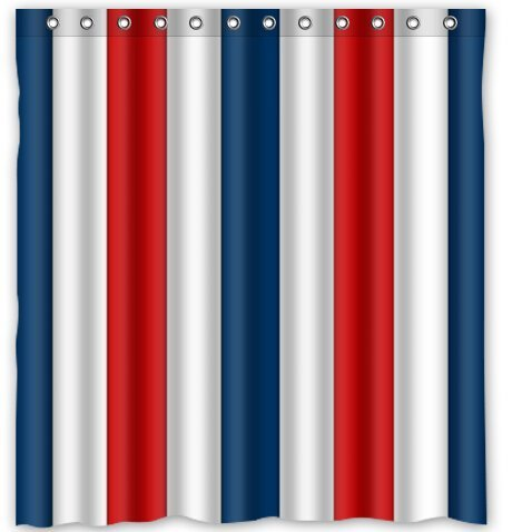 Popular Red Striped Shower Curtain Buy Cheap Red Striped Shower