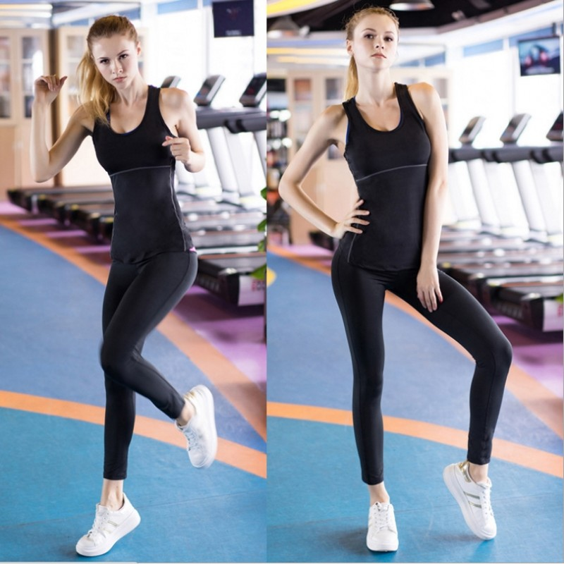 2018 Summer Women Sports Vest Tight Train Running for Fitness Yoga Quick-drying Vest Workout Fitness Tank Top Sexy Tops