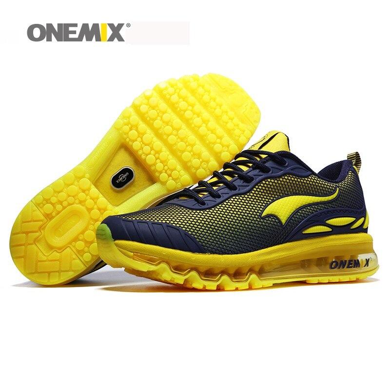ONEMIX homme chaussures de course taille Max 12 belles tendances courir maille respirant hommes Jogging chaussure Sport pour extérieur marche baskets coussin - 6