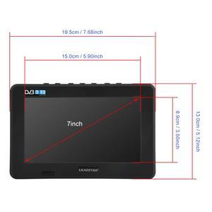 Image 5 - LEADSTAR 7 pollici DVB T T2 16:9 HD Analogico Digitale Portatile TV Lettore Televisione a Colori per Auto A Casa per il REGNO UNITO Spina