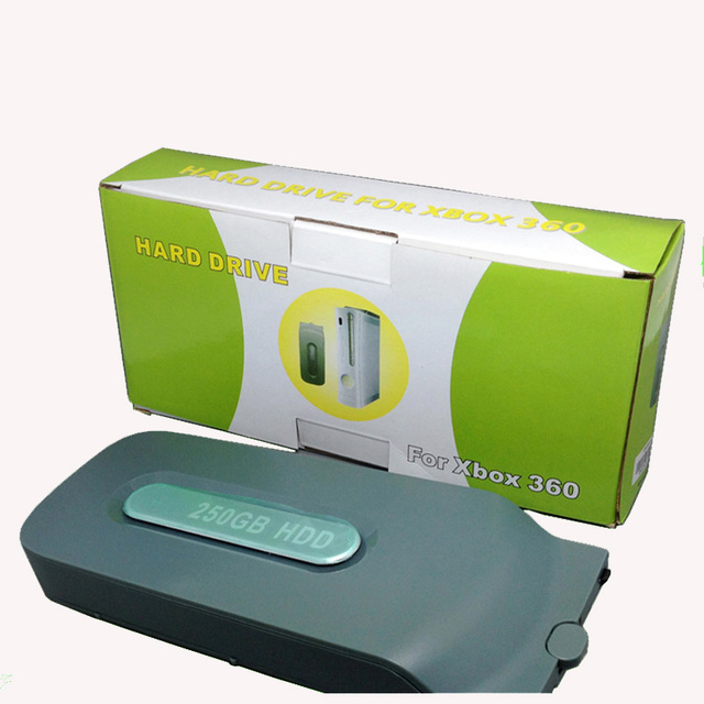US $15 8 |high quality Really Full Capacity For XBOX 360 Fat 500GB 320GB  250GB 120GB 60GB 20GB Hard Disk Drive HDD For xbox360 fat Console-in