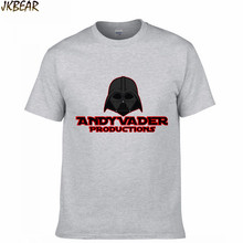 Hot-sale Funny Star Wars The Force Awakens T Shirts for Men and Women Darth Vader Fans O Neck Cotton T-shirts Plus Size S-3XL