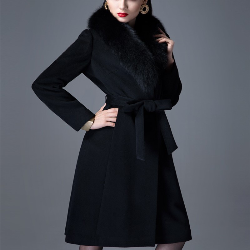 Online Get Cheap Long Black Cashmere Coat -Aliexpress.com
