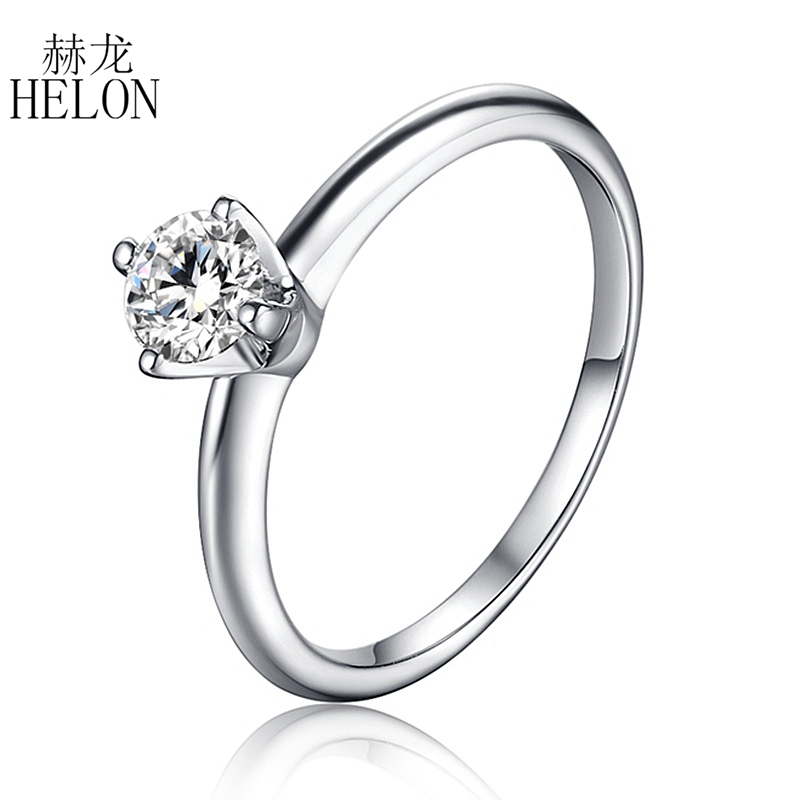 Engagement & Wedding Solid 14k White Gold 0.98ct Round Eternity Diamond Engagement Wedding Band