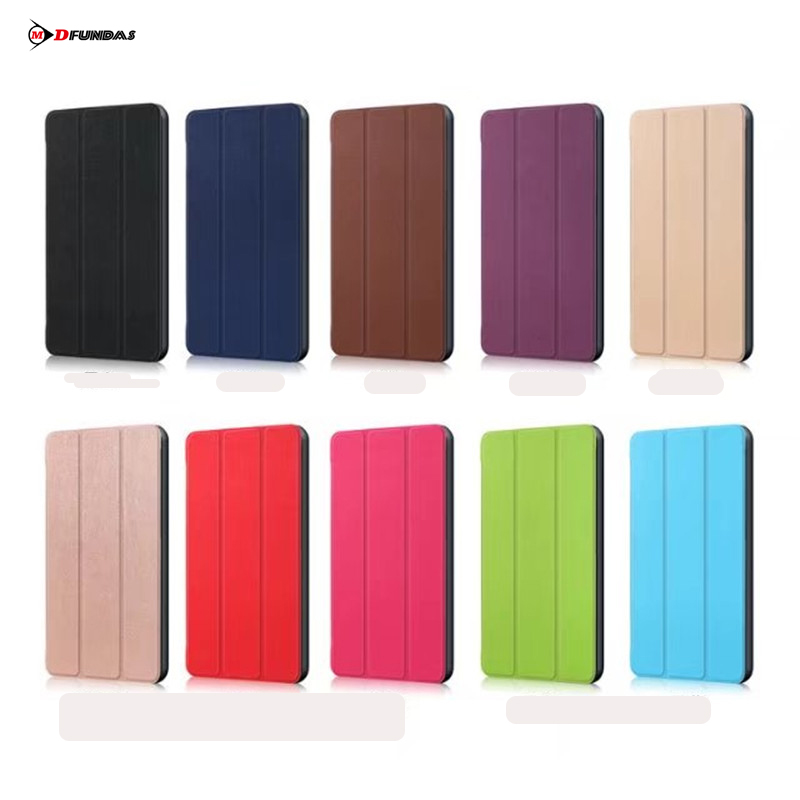 MDFUNDAS Tablet Protective Shell For Lenovo Tab 4 7 Essential Case TB7304F Luxury Leather Cover For Lenovo Tab4 Essential +Film