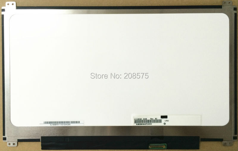 Free Shipping ! N133BGE-EAB HB133WX1-402 B133XTN01.2 / 3 M133NWN1 R1 R3 30pins EDP for Acer S5 S5-391 Laptop LED Display Screen