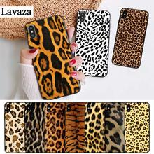 Lavaza Fashion Tiger Leopard Panther Silicone Case for iPhone 5 5S 6 6S Plus 7 8 11 Pro X XS Max XR