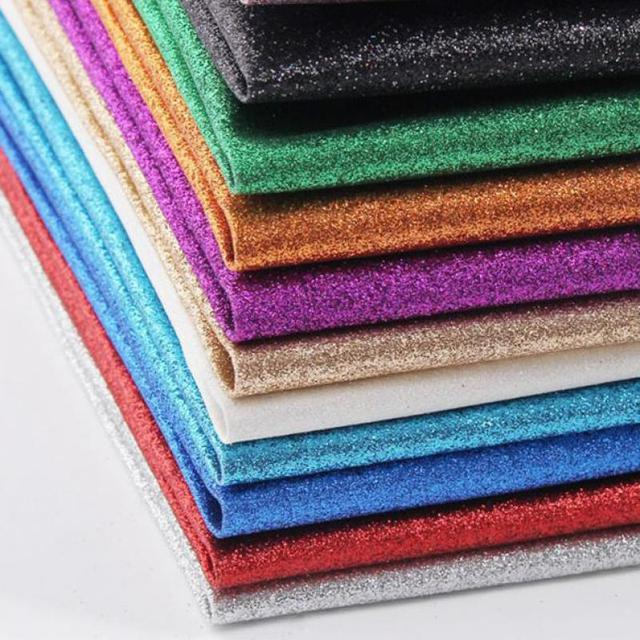 0 5 Meter Fine Glitter Paper Leather Decorative Upholstery Wallpaper