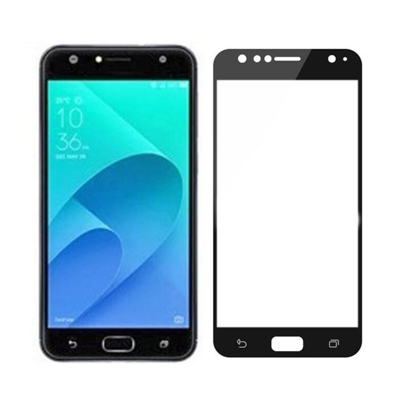 Full Cover Tempered Glass For Asus ZenFone 4 Selfie / Pro / ZD553KL ZD552KL / Live Plus ZB553KL Screen Protector Protective Film