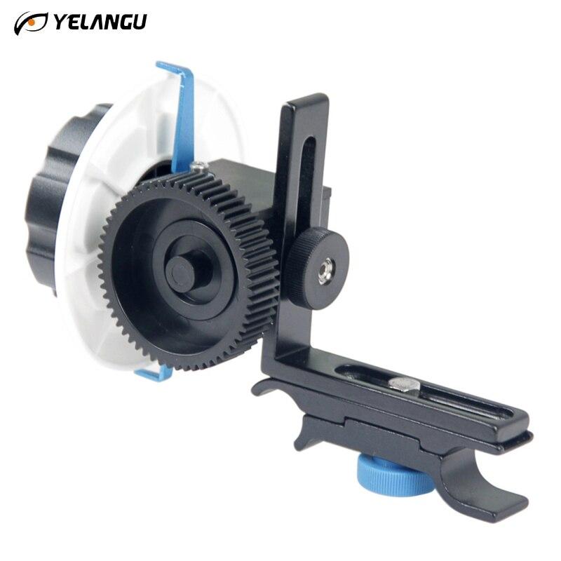 Professionnel YELANGU F0 mise au point suivre bague de mise au point anneau de vitesse ceinture pour Canon Nikon Sony objectif DSLR appareil photo et caméscope universel