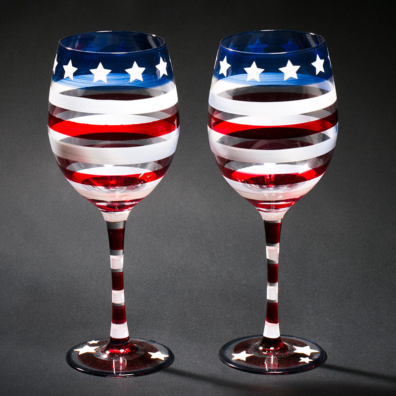 Hand Painted Wine Glass Champagne Flute Crystal Cup Glasses Stemware For Vodka Cups Home Bar Hotel Party Drinkware Aliexpress