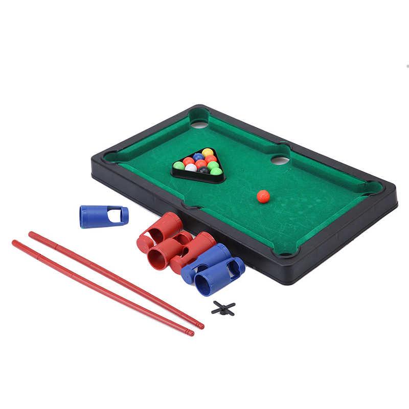Маленький бильярдный стол Флокирование Настольный симулятор Бильярд Новинка Мини биллиардный стол наборы детские игровые спортивные шарики спортивные игрушки