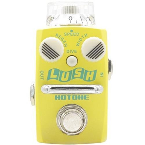 Hotone SFL-1 Lush Analog Flanger Guitar Effect Pedal with Bonus Patch Cable and Power Adapter цена 2017