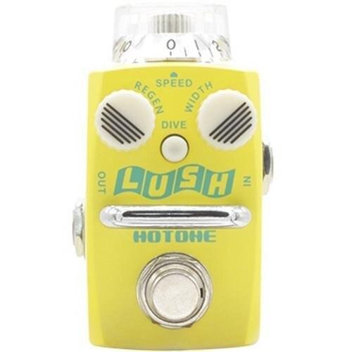 Hotone SFL-1 Luxuriante Analogique Flanger Guitare Pédale D'effet avec Bonus Patch Câble et un Adaptateur