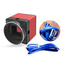 USB3.0 5MP Industrial CMOS Digital Microscope Camera Electro