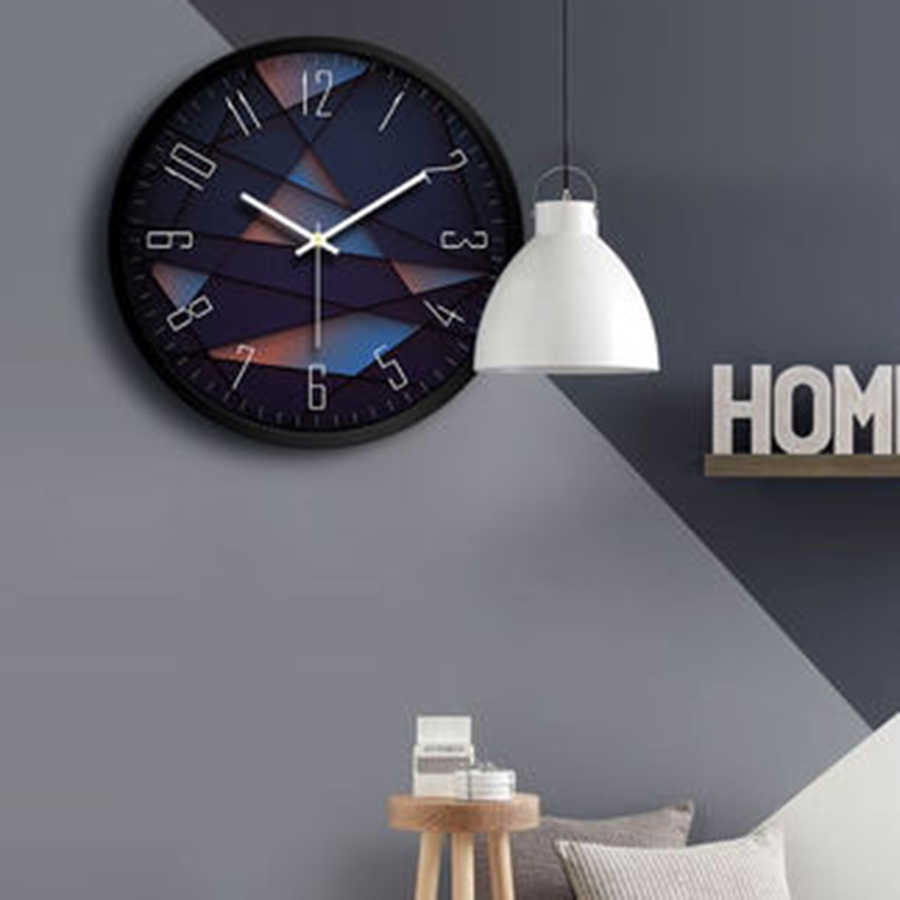 3d wall clock modern design large wall watch home decor farmhouse kitchen clock electronic desk bathroom