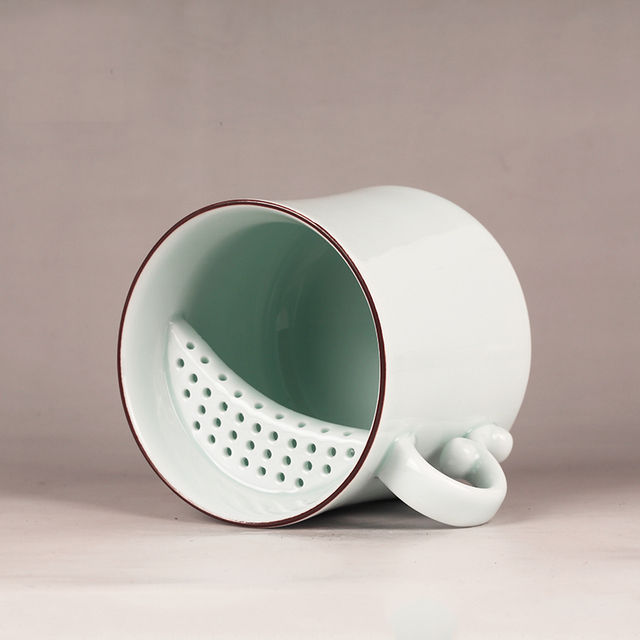 Super Beer Enamel Ceramic Coffee Mug Creative With Lid Porcelain Tea Sets Friend