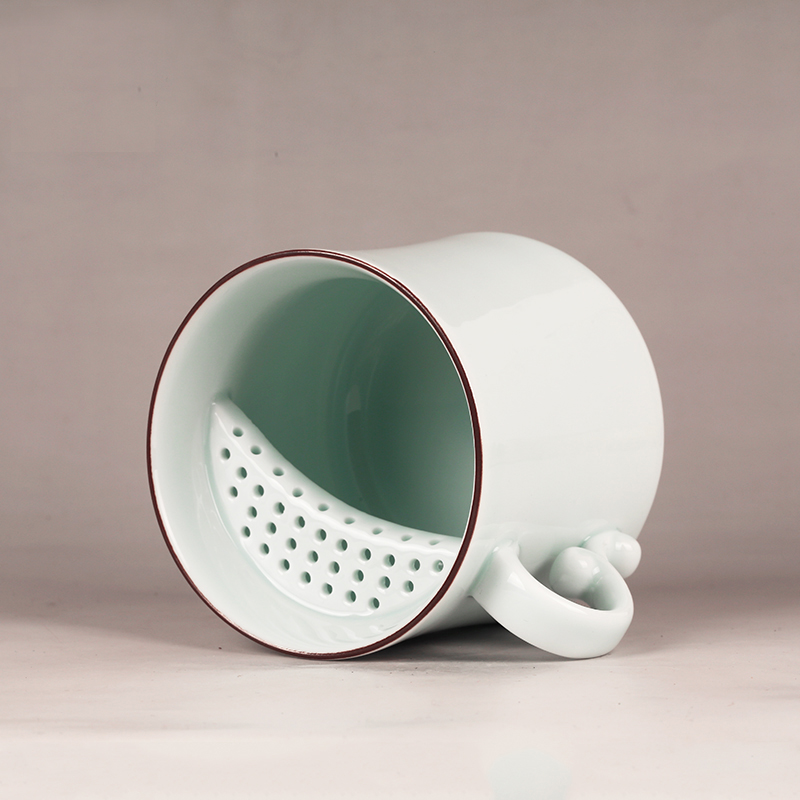 Super Big Beer Enamel Ceramic Coffee Mug Creative Mug With Lid Porcelain Coffee Tea Sets Friend Gift Chinese Tea Cup china SALE