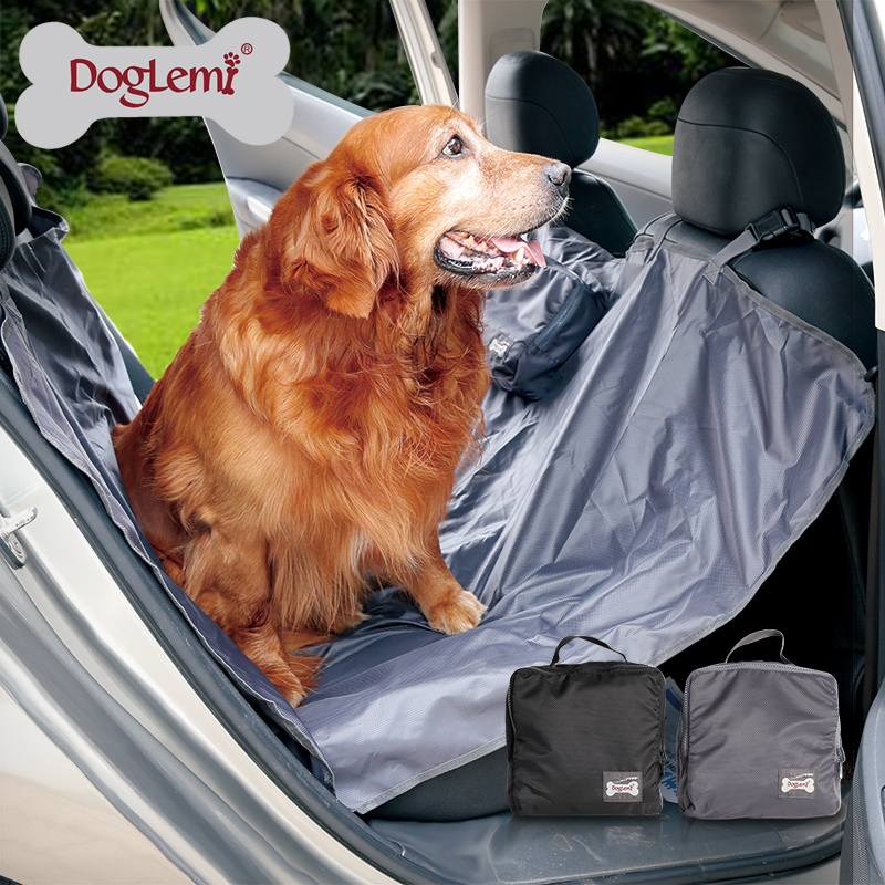145*145CM Foldable Waterproof Dog Car Seat Cover Pet Carriers Truck Hammock pet Car Mat Lumcrissy Pet Car Seat Cove
