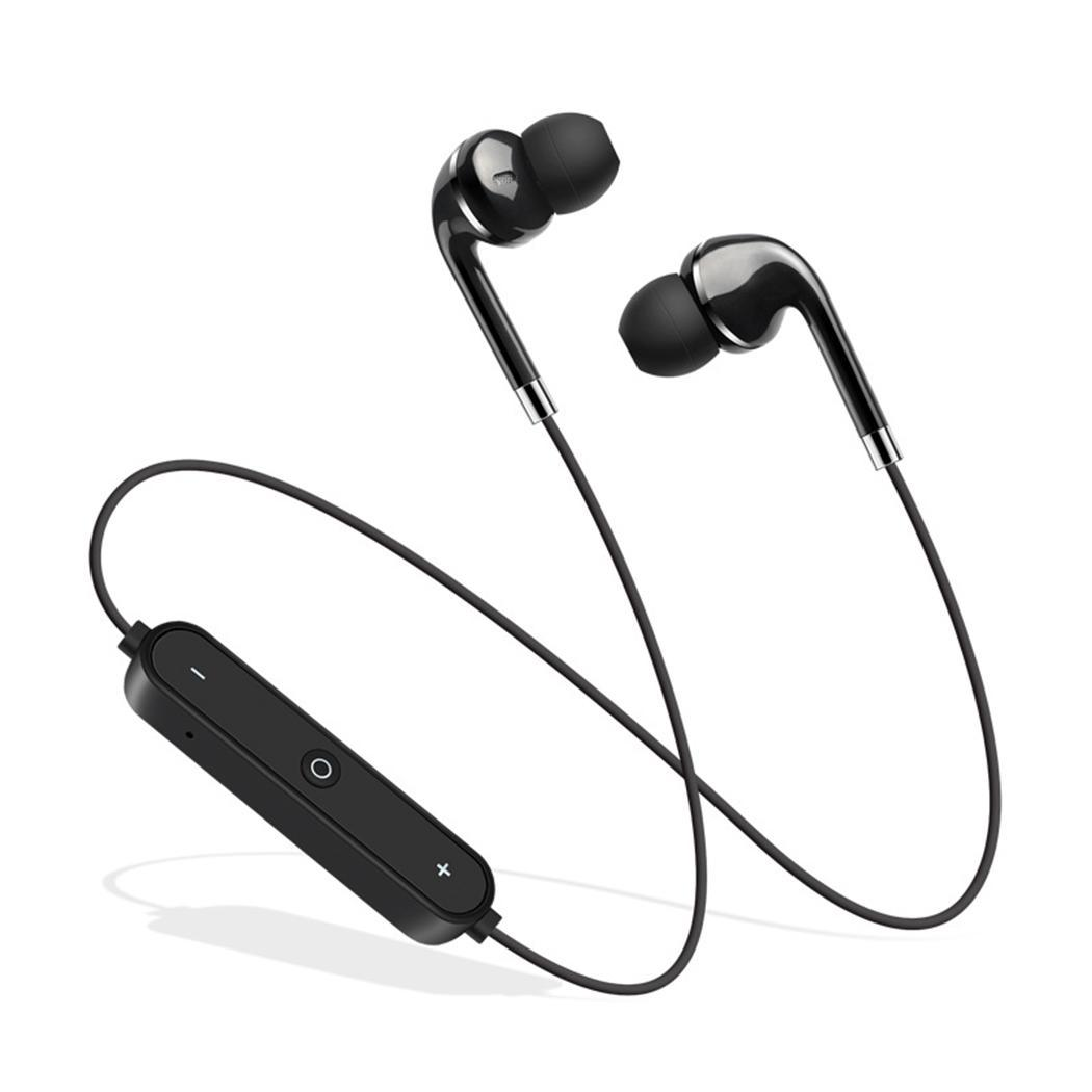 General Wireless Bluetooth Binaural Stereo Headset In-Ear Sports Earphone 17.6x9.5x2.7cm/6.9x3.7x1.1inch 60mAh
