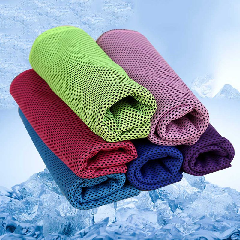Best Gym Towel 2018: 2018 New Instant Cooling Towel ICE Cold Golf Cycling