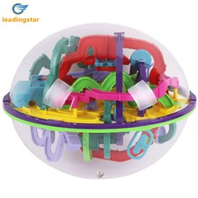 LeadingStar  Challenging Levels Magic 3D Maze Ball Interesting Labyrinth Puzzle Game Globe Toys