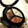 Special sales   genuine stripped-down three-color eye shadow  eye shadow multicolor mixed batch  free shipping  S381