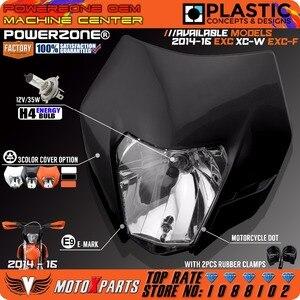 Image 5 - Powerzone Del Faro Del Faro Per KTM SX F EXC XCF SMR 2014 15 16 Moto Dirt Bike MX Enduro Supermoto Con h4 Lampadina