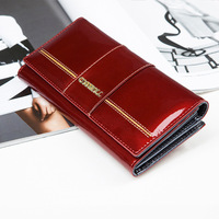Women S Wallet Women S Clutch Female S Purse Ladies Long Wallet Genuine Leather Purse Famous