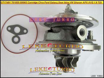 ฟรีเรือ Turbo ตลับหมึก Chra GT1749V 701855-0006 701855-0002 701855 028145702 P สำหรับ Ford Galaxy Ibiza VW sharan AFN เฉลี่ย 1.9L