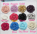 2pcs per lot Min.$15 (Mixed Order) Cell Phone Case DIY PU Leather Camellia Flower pendant Decoration Charms 5.5cm
