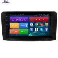 WANUSUAL 9Inch Android 6.0 GPS Navigation for Mercedes Benz ML GL W164 2005 2006 2007 2008 2009 2010 2011 2012 with Quad Core16G