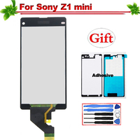 100% Tested for Sony Xperia Z1 Mini Compact LCD Display Touch Screen Assembly Replacement for SONY Z1 mini D5503 M51W display