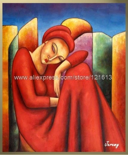 Peinture Contemporaine Tableau Moderne Contemporain Happy Sleeping