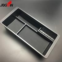 For Chevrolet Silverado GMC Sierra 2014 2017 Car Armrest Box Central Storage Tray Holder Container Organizer