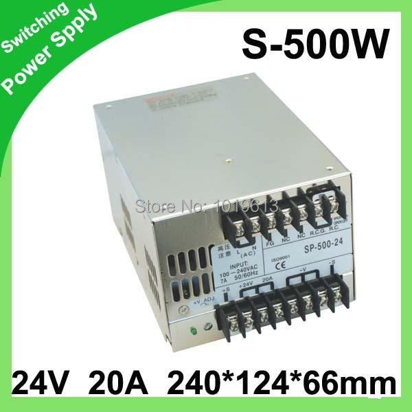 ФОТО (S-500-24) Factory outlet ! 12V/24V/36V/48V DC output 36V power supply 500W