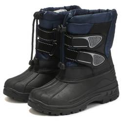 ULKNN/новые детские зимние сапоги для мальчиков и девочек, хлопковая обувь, зимние теплые Нескользящие удобные повседневные зимние сапоги
